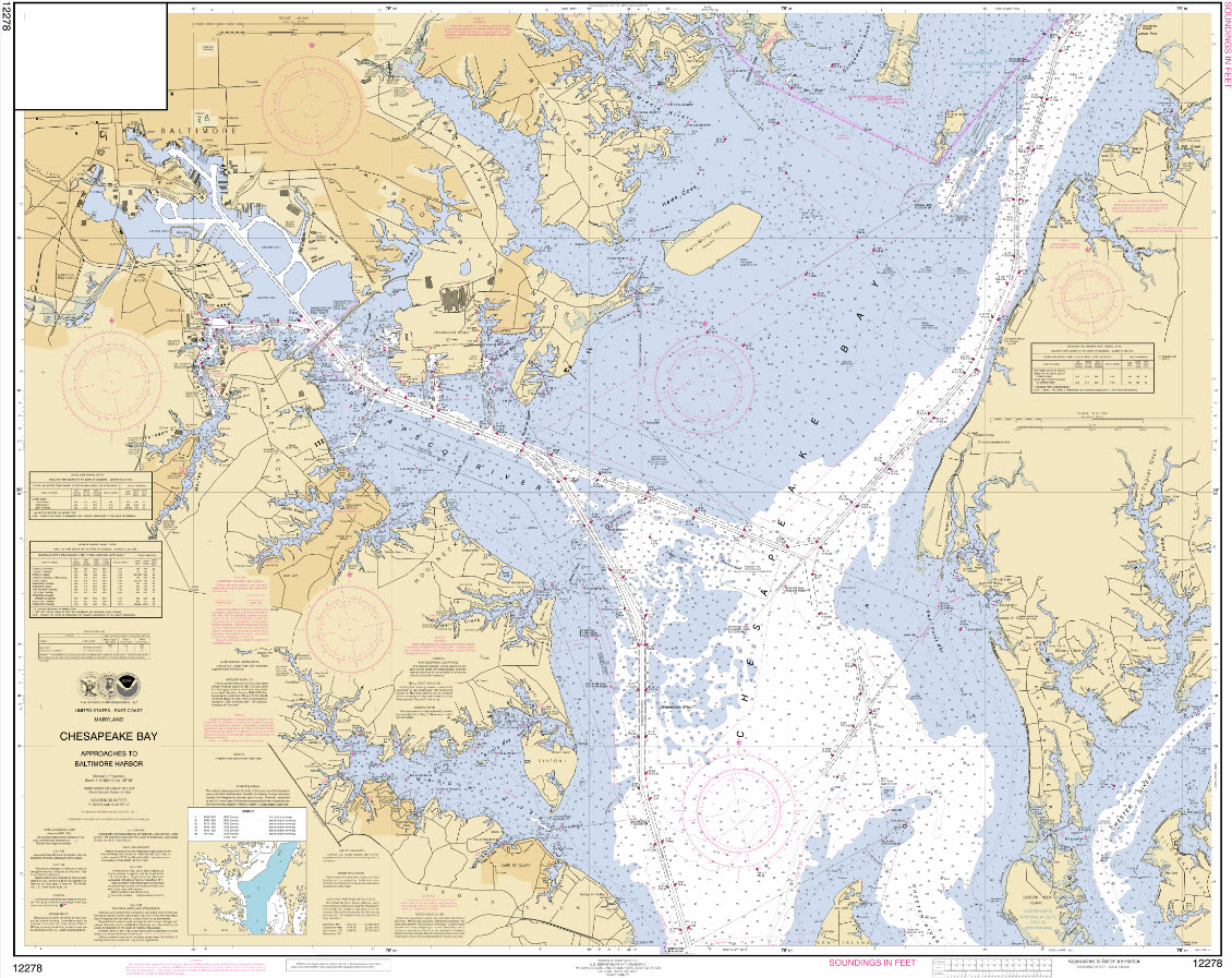 Noaa Nautical Charts For Sea Packrafters
