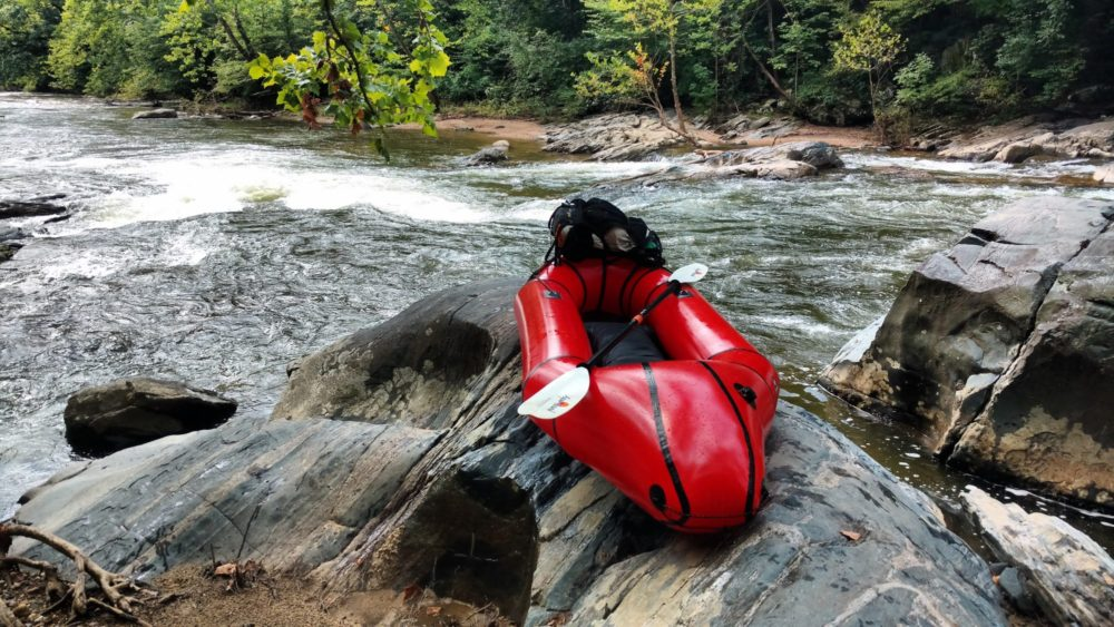 Packrafting the Big Gunpowder Falls – Descent Down the Fall Line
