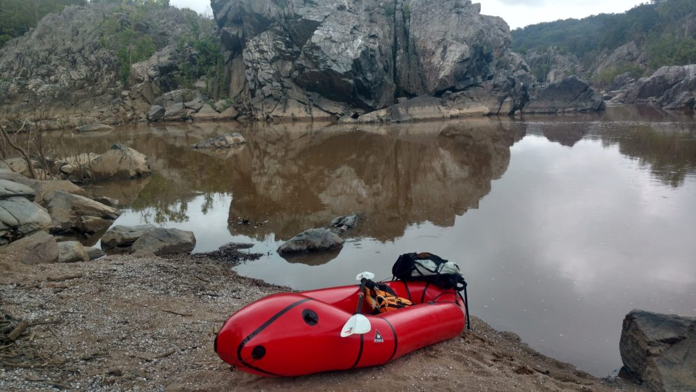 Packrafting Mather Gorge – Rock Scramble in and Paddle out