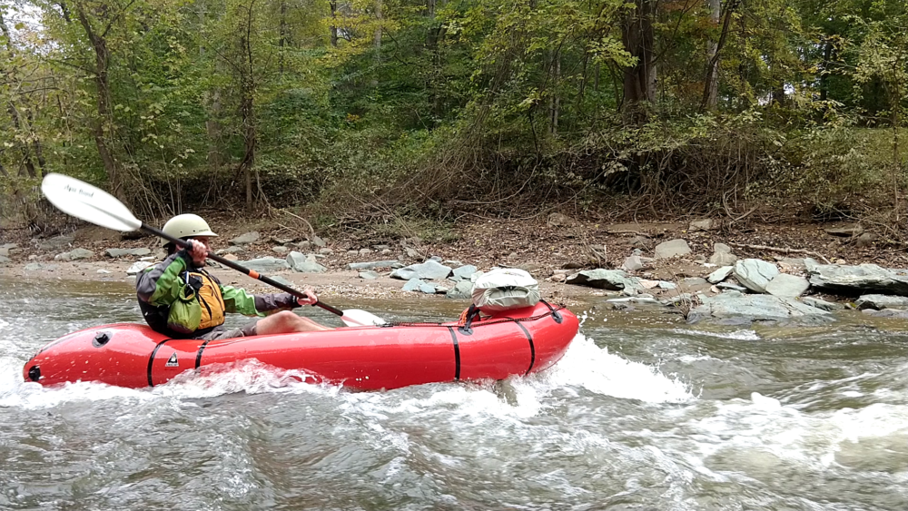 Low Water Packrafting – Catoctin Creek to the Potomac Confluence